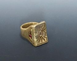 Invictus Ring by Peaceofshine