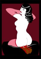 Bettie Page by emucoupons