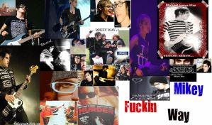Mikey Way Collage by FromLoveToDeath