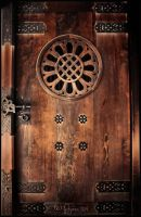 Meiji Shrine Door by Pajunen