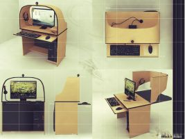 Desk by dreamh
