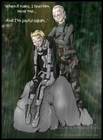 MGS3 Couples - Joy and Sorrow by AmyJSmylie