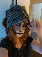 Khajiit Makeup - Training day! by Folkenstal