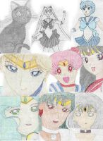 Pretty Suited Sailor Soldiers by DeedoSwiftleaf