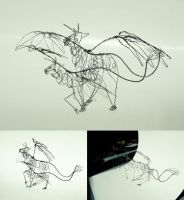 Wire creature by Naerko