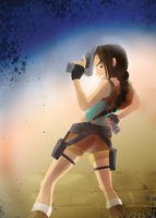 Lara Croft by Kna