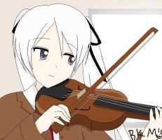 Violin by motli