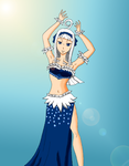 Angel as a Bellydancer by Oceanisuna