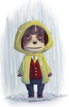 AC:NL Rainy Day Digby by subparrot