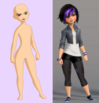 Gogo Tomago Base by Raygirlbases