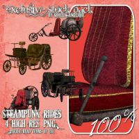 CU OK SteamPunk Rides by angellella-stock