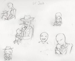 Spades Slick/Snowman spawn doodles by Apricots-from-Nara