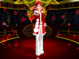 MMD DT Kaito Red Heart DL by MANAKH