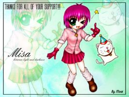 Thanks from Misa by moai666