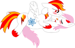 Flamerunner x Snowflake Lovely Sex Vector by AbyZZal
