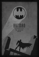 Batman: The Animated Series Minimalist Art by Vali-Ent