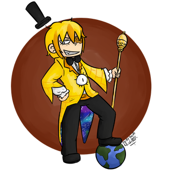 Human Bill Cipher [request] by SafiraCanislupus