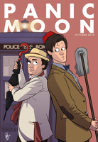 Panic Moon Cover Oct 2010 - Redraw by Girl-on-the-Moon