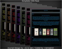 Simplistic + Fun CSS Pack by Jamaal10