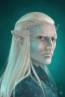 Thranduil by Gudulett-e