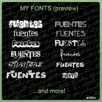 My Fonts Pack by KrisPS