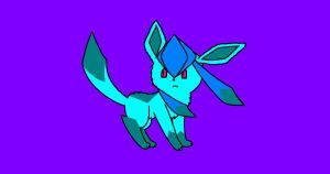 eeveeloution Glaceon by RainbowtheKitty