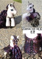 Steampunk Mademoiselle for AK by JoshsPonyPrincess