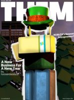 Them Designs Magazine Cover by DaddyBlox