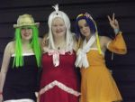Bisca, Mira and Levy by The-Marimo-Cosplayer