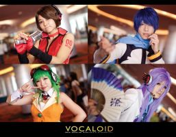 Vocaloid Family by sunandpuppet