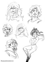 sketchdump number x by thereina