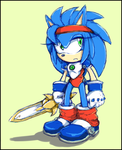 Sister Sonic - Mail the Popful by Cylent-Nite