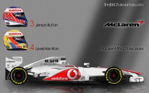 McLaren MP4-27 2012 by ShinjiRHCP