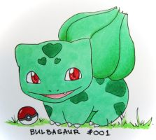 Bulbasaur 001 by An1mel0vah