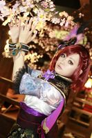 Gracia - Samurai Warriors by AiKawasaki