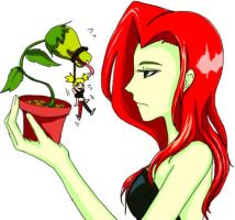 Harley and Ivy by Whiptailizard