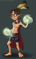 I Do Magic Things And Look Cool While Doing It. by AquaMoonlight