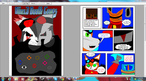 Working on the Blinx3 comic by Blinx3megachanel