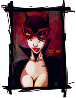 catwoman by H1W0