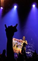 M.Shadows w. my FICTION banner by maga-a7x