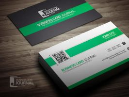 Free Corporate Business Card Template by mengloong