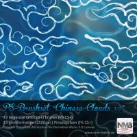 Chinese Cloud Brushes v.1 by Hexe78