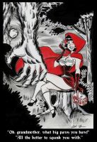 Little Red Riding Hood by ChrisFaccone