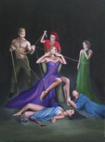 Seven Deadly Sins by ChristineMarieArt