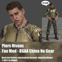 Piers FanMod BSAA China No Gear by Adngel