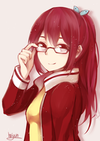 Free!: glasses by Haiyun