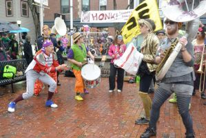 2014 Honk Festival, Music In the Square 17 by Miss-Tbones