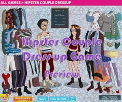 Hipster Couple Dress-Up Game by Andorea-Chan