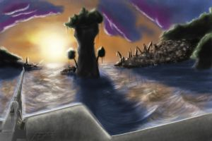 Archipelago from the Serpent III by TatterTailArt