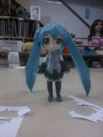 Miku papercraft by Simsata